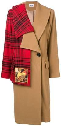 Au Jour Le Jour wool hybrid coat