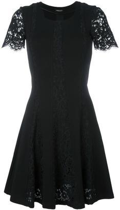 Twin-Set lace details dress $237.81 thestylecure.com