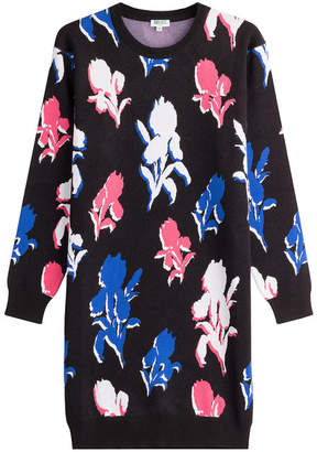Kenzo Printed Sweater Dress