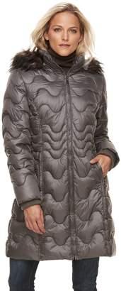 Gallery Women's Hooded Puffer Jacket
