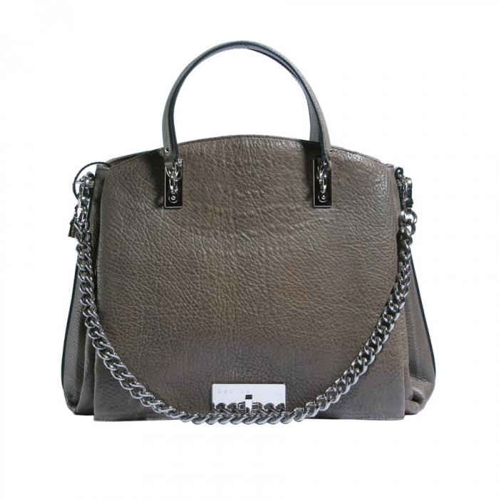 Celine Grey Shoulder Bag