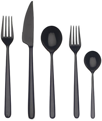 Mepra 5-Pc Linea Place Setting - Black