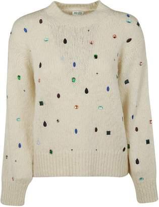 Kenzo Jewel Embellished Sweater