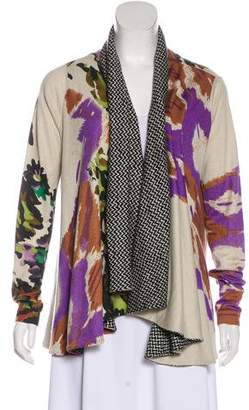 Etro Printed Knit Cardigan