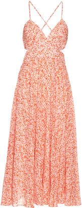 REBECCA TAYLOR Provence-print cotton-voile maxi dress $475 thestylecure.com