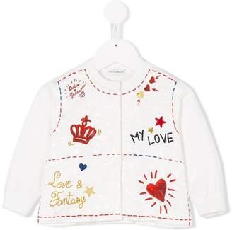 Dolce & Gabbana embroidered cardigan