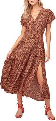 ASTR the Label Beau Animal Print Maxi Dress