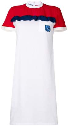 Prada ruffled detail dress