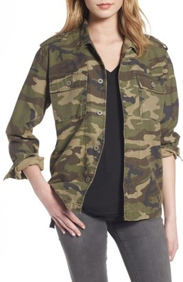 Women's Thread & Supply Barton Camo Print Jacket $59 thestylecure.com