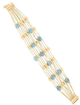 Marco Bicego 18K Topaz Multistrand Bracelet