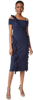 Jason Wu Ruffle Knit Dress $1,195 thestylecure.com