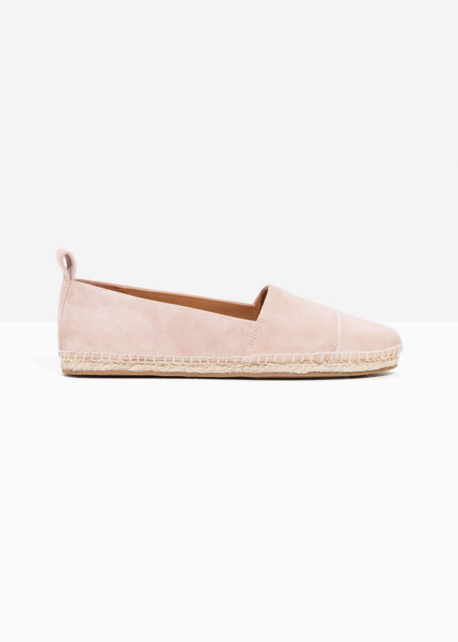 And other stories Leather Toe Espadrilles