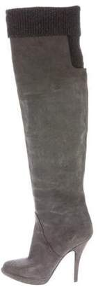 Givenchy Suede Over-The-Knee Boots