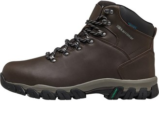 Karrimor Mens Mendip 3 Weathertite Hiking Boots Chocolate