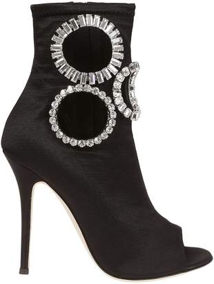 ea1f3b58a5c Giuseppe Zanotti Crystal Embellished Ankle Boots
