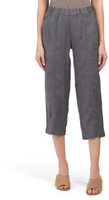 bf879530a145f7 Linen Capris For Women - ShopStyle