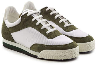 Comme des Garcons Spalwart Sneakers with Suede and Mesh