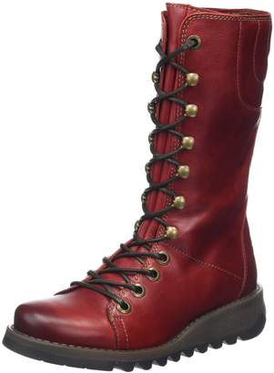 Fly London Womens Ster768Fly Rug Leather Boots-UK 5