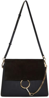 Chloé Black Medium Faye Bag