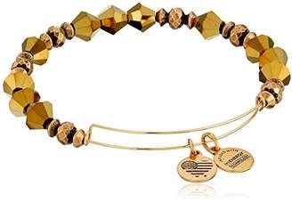 Alex and Ani Wonder Expandable Golden Luster -Tone Bangle Bracelet