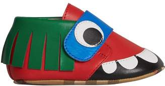 Burberry Monster Motif Leather Shoes