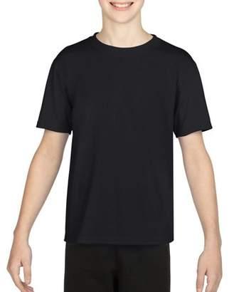 Gildan AquaFX Performance Kids Short Sleeve T-Shirt