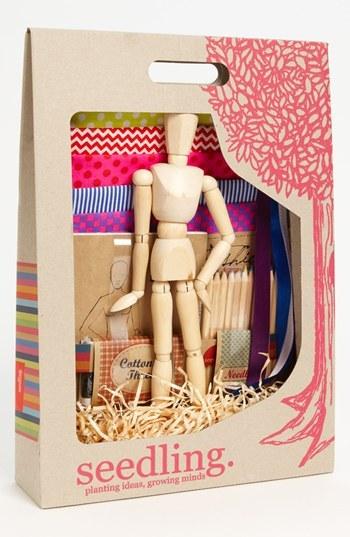 Kid o Seedling 'Fashion Designer's Kit' Craft Kit
