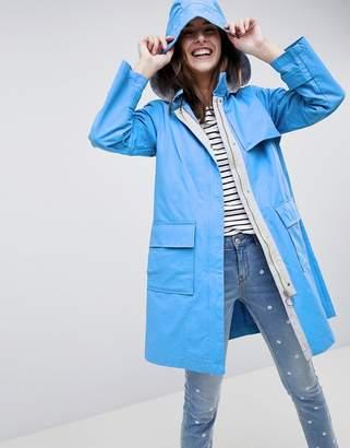 Esprit Hooded Mac Jacket