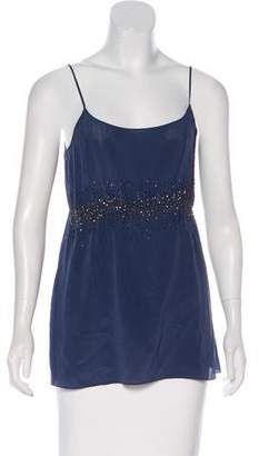 Max & Co. MAX&Co. Sequined Sleeveless Top