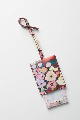 KT Smail Picturesque Florals Luggage Tag