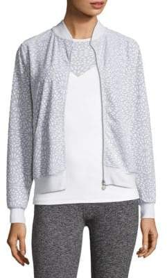 Beyond Yoga Cut It Close Bomber Jacket