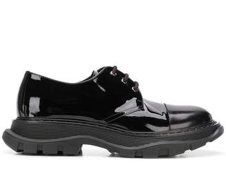 Alexander McQueen Tread Derby lace-up shoes