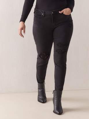 Rip & Repair Aiko Skinny Jean - Silver Jeans