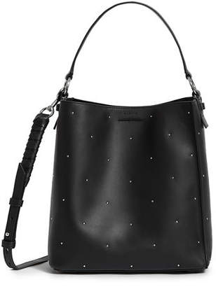 AllSaints Kathi Small Studded Leather Tote Bag