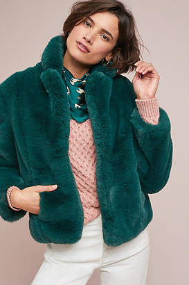 Keepsake Stay With Me Faux Fur Coat