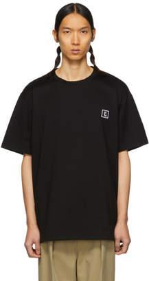 Wooyoungmi Black Logo T-Shirt