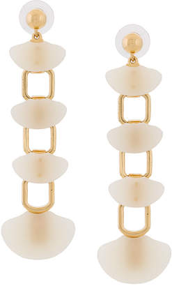 Lele Sadoughi shell drop earrings