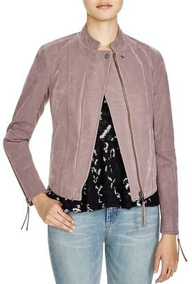 Free People Clean Vegan Faux Leather Jacket $198 thestylecure.com