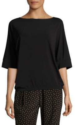Lafayette 148 New York Boatneck Relaxed Top