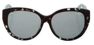 567deb45fad3 Christian Dior Lady 1 Cat-Eye Sunglasses