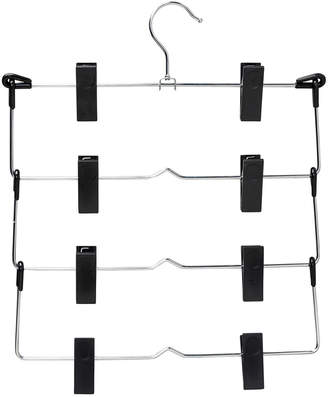 Honey-Can-Do 4-Tier Single Fold Up Skirt Hanger