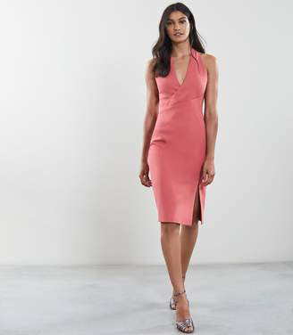 Reiss Abriana Wrap Front Dress