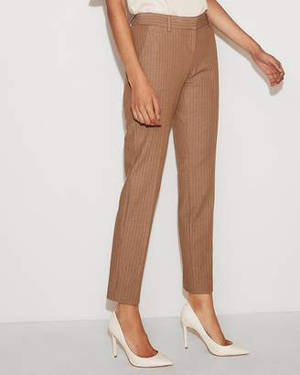 Express Low Rise Striped Columnist Ankle Pant