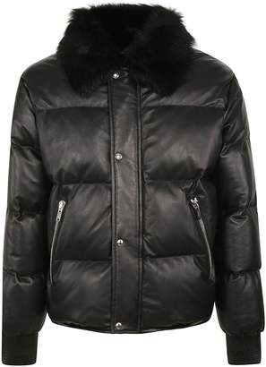 Christian Dior Fur Padded Jacket