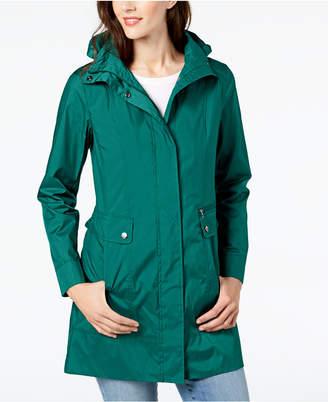 Cole Haan (コール ハーン) - Cole Haan Packable Hooded Raincoat