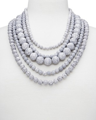 "BAUBLEBAR Globe Strands Layered Necklace, 18"" $38 thestylecure.com"
