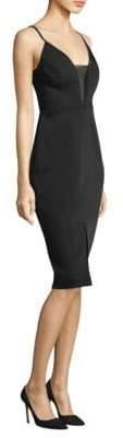 BCBGMAXAZRIA Satin Sheath Dress