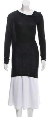 Ann Demeulemeester Long Sleeve Knit Top