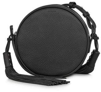 AllSaints Kepi Circle Leather Crossbody Bag