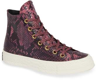Converse Chuck Taylor(R) All Star(R) CT 70 Reptile High Top Sneaker